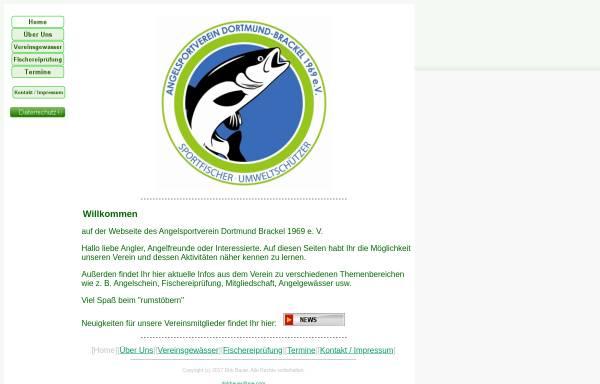 Vorschau von www.asv-1969.de, Angelsportverein Dortmund-Brackel 1969 e.V.