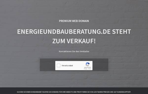 Vorschau von www.energieundbauberatung.de, Buhl, Alfred
