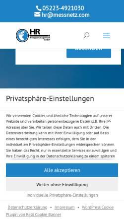 Vorschau der mobilen Webseite www.energieeffizienzagentur.eu, Roswandowicz, Holger