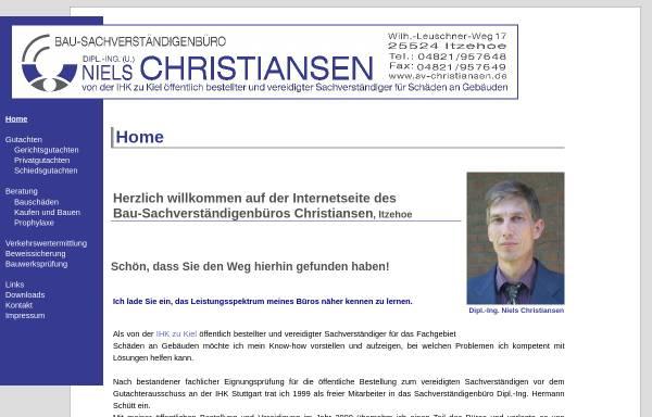 Vorschau von www.sv-christiansen.de, Christiansen, Niels