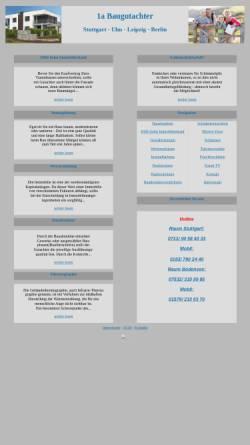 Vorschau der mobilen Webseite www.1a-baugutachter.de, Kämmner, Frank