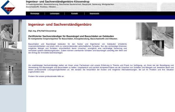 Vorschau von www.ingk.de, Kössendrup, Ralf