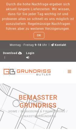 Vorschau der mobilen Webseite www.immo-bv.de, Mueller, Peter