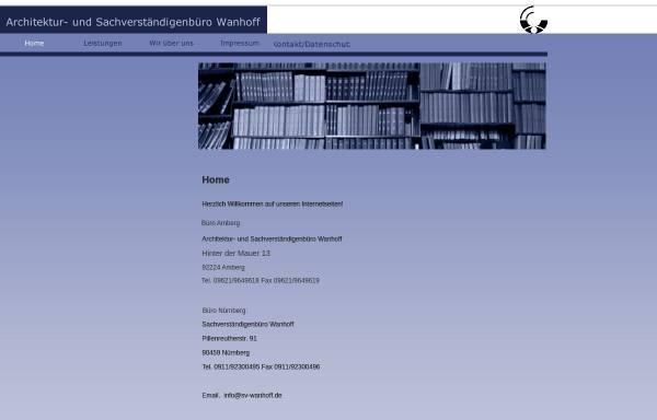 Vorschau von www.sv-wanhoff.de, Wanhoff, Frank-Peter