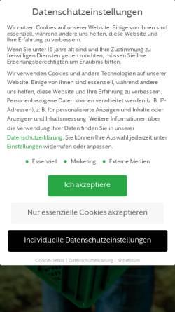 Vorschau der mobilen Webseite novum-gemueseabo.de, Novum das Gemüseabo