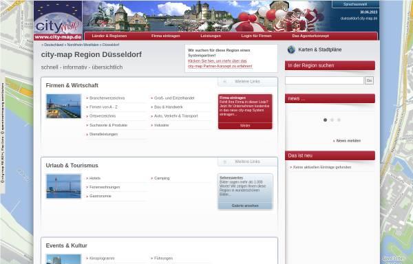 Vorschau von duesseldorf.city-map.de, City-Map