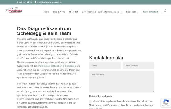 Vorschau von diediagnostikzentren.de, Diagnostikzentrum Scheidegg