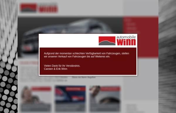 Vorschau von www.automobile-winn.de, Automobile Winn