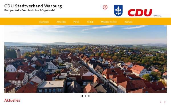 Vorschau von www.cdu-warburg.de, CDU-Stadtverband Warburg