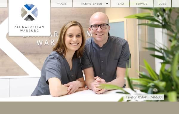 Vorschau von www.zahnaerztin-warburg.de, Dr. med. dent. Sabine Kusche, Praxis für Zahnheilkunde