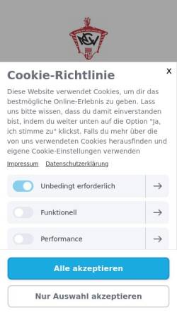 Vorschau der mobilen Webseite www.ncv-lahnstein.de, Niederlahnsteiner-Carneval-Verein