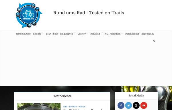 Vorschau von www.rund-ums-rad.info, Rund ums Rad