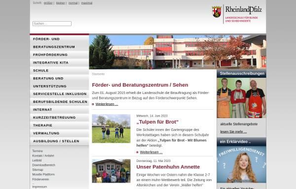 Vorschau von www.blindenschule-neuwied.de, Landesschule für Blinde und Sehbehinderte Neuwied