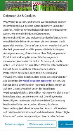 Vorschau der mobilen Webseite www.gruen-weiss-mendig.de, TUS Grün-Weiß Mendig e.V.