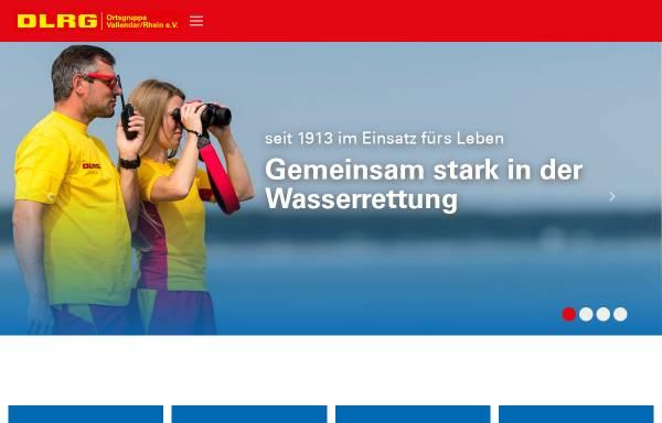 Vorschau von vallendar.dlrg.de, DLRG Vallendar e.V.