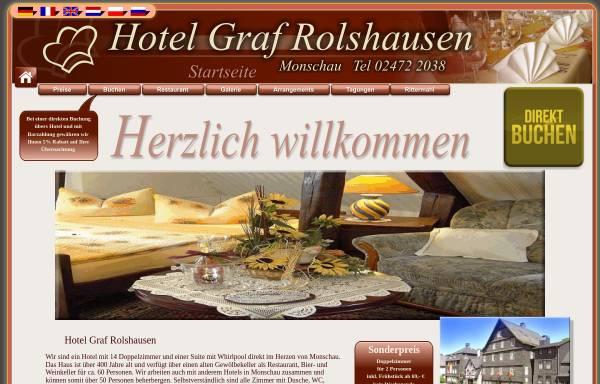 Vorschau von www.graf-rolshausen.de, Hotel-Restaurant Graf Rolshausen
