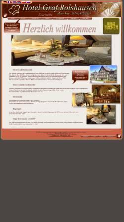Vorschau der mobilen Webseite www.graf-rolshausen.de, Hotel-Restaurant Graf Rolshausen