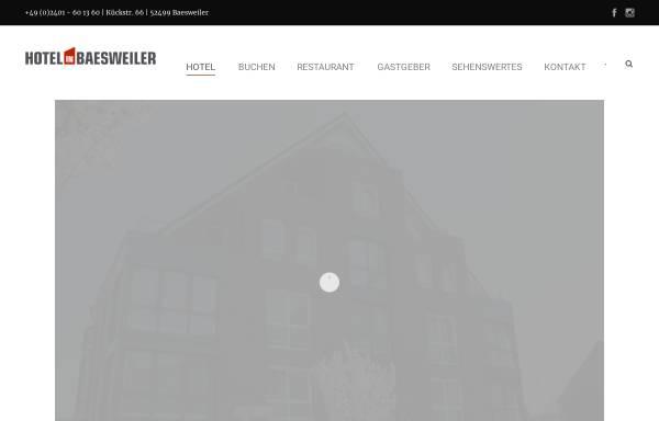 Vorschau von www.hotel-in-baesweiler.de, HIB Hotel in Baesweiler GmbH