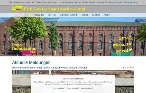 Vorschau von www.fdp-kreisaachen.de, FDP Roetgen