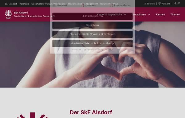 Vorschau von www.skf-alsdorf.de, Sozialdienst katholischer Frauen e.V. (SkF) Alsdorf