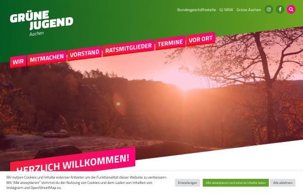 Vorschau von www.gjac.de, Grüne Jugend in Aachen und der StädteRegion