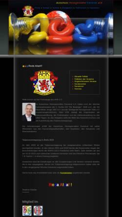 Vorschau der mobilen Webseite www.ahk-web.de, Ausschuss Herzogenrather Karneval e.V. (AHK)