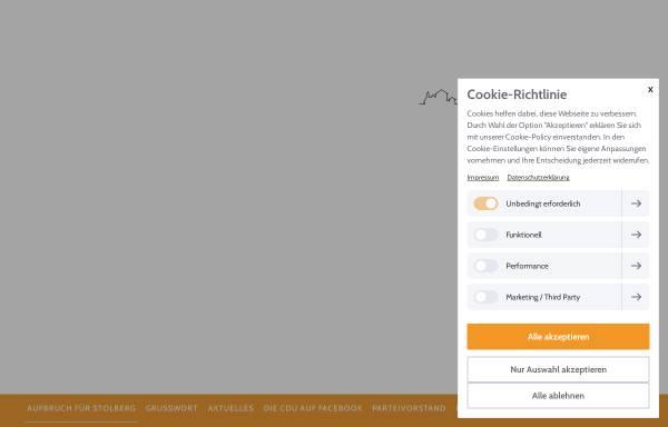 Vorschau von www.cdu-stolberg.de, CDU-Stadtverband Stolberg