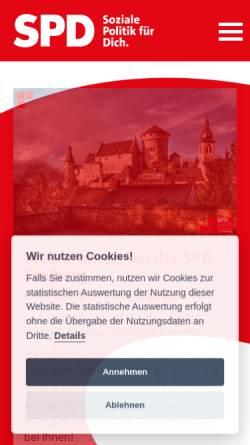 Vorschau der mobilen Webseite www.spd-stolberg.de, SPD Stolberg