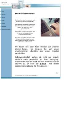Vorschau der mobilen Webseite www.mthiel-sbt.de, Schreibbüro und Büroservice Melanie Thiel