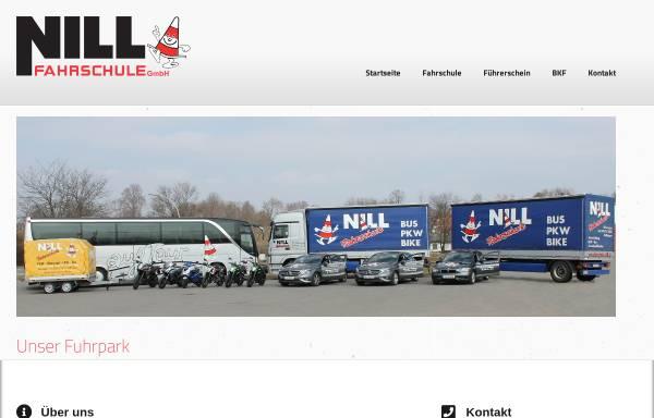 Vorschau von www.fahrschule-nill.de, Fahrschule Siegfried Nell