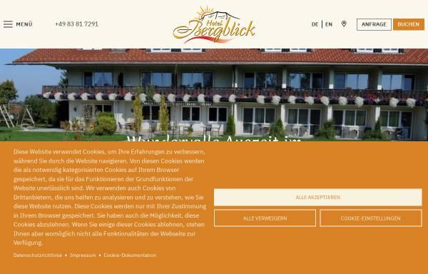 Vorschau von www.gaestehaus-bergblick.de, Hotel garni Gästehaus Bergblick