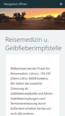 Vorschau der mobilen Webseite www.doc-k.com, Privatärztliche Gemeinschaftspraxis Köhler