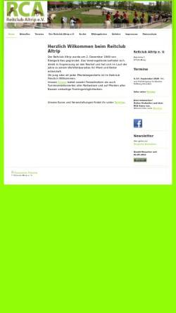 Vorschau der mobilen Webseite www.reitclub-altrip.de, Reitclub Altrip e.V.