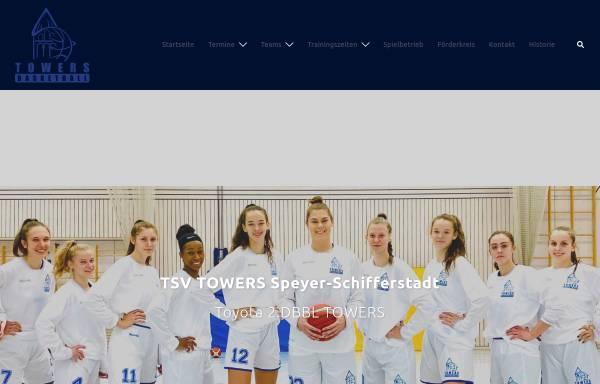 Vorschau von www.towers-basketball.de, TSV TOWERS Speyer-Schifferstadt