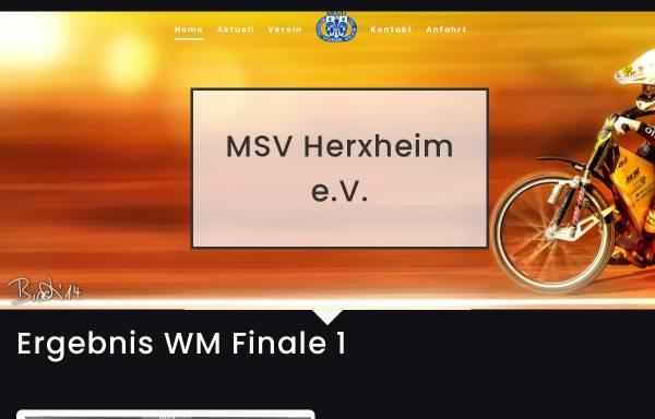 Vorschau von www.speedway.de, Motorsportvereinigung Herxheim e. V.