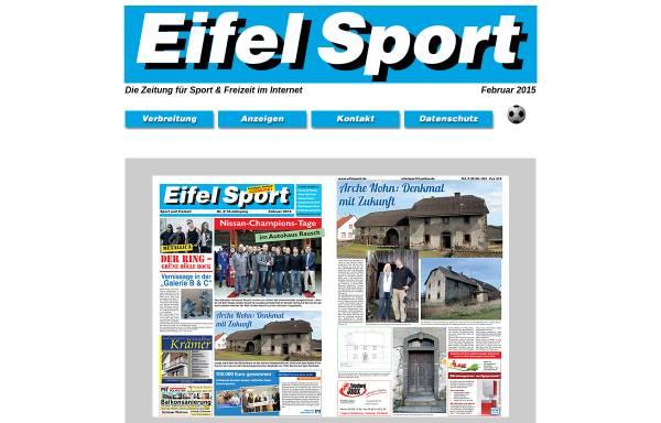 Vorschau von www.eifelsport.de, Eifel Sport