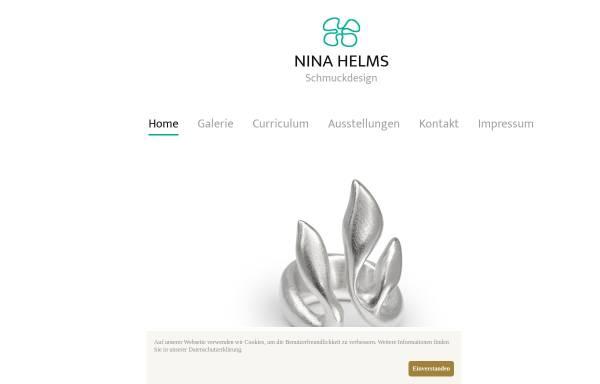 Vorschau von www.ninahelms.de, Nina Helms Schmuckdesign