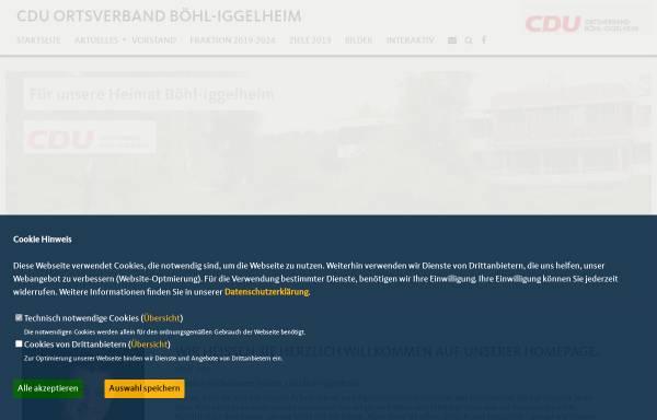 Vorschau von cdu-boehl-iggelheim.de, CDU Böhl-Iggelheim