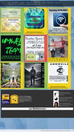 Vorschau der mobilen Webseite www.lemon-net.de, Jugendhaus Lemon Annweiler