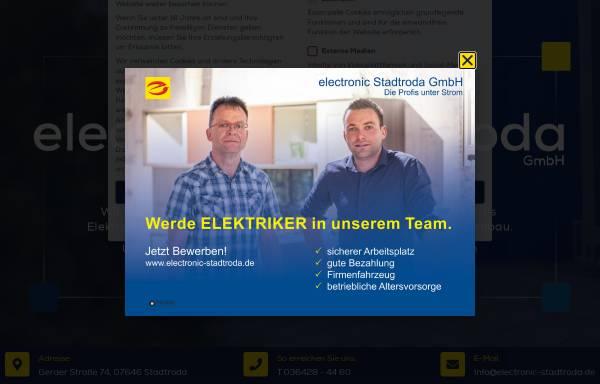 Vorschau von www.electronic-stadtroda.de, electronic Stadtroda GmbH