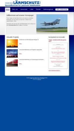 Vorschau der mobilen Webseite www.knorr-laermschutz.de, Knorr Lärmschutz GmbH