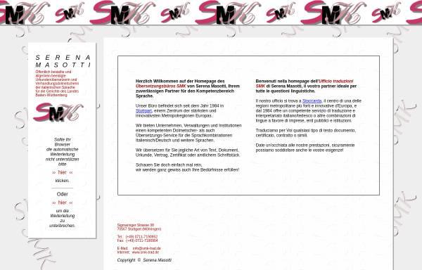 Vorschau von www.smk-trad.de, SMK Serena Masotti
