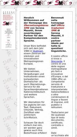 Vorschau der mobilen Webseite www.smk-trad.de, SMK Serena Masotti
