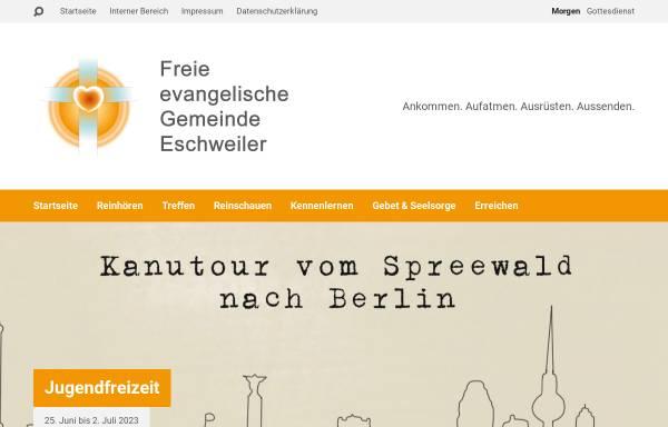 Vorschau von eschweiler.feg.de, Freie evangelische Gemeinde Eschweiler