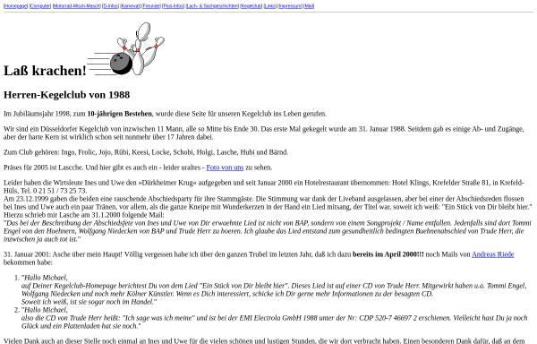 Vorschau von www.michael-lorkowski.de, Kegelclub