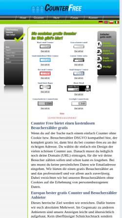 Vorschau der mobilen Webseite www.counter-free.eu, Counter-Free.eu