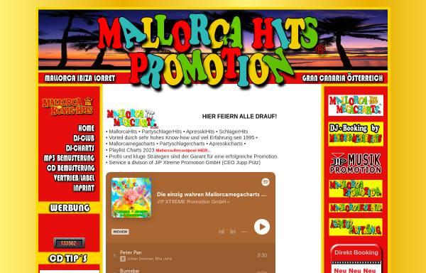 Vorschau von www.mallorcakoenig-hits.de, Mallorca-Hits Promotion