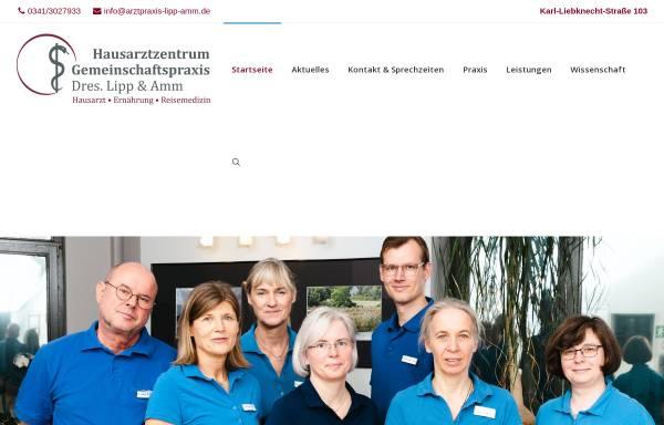 Vorschau von www.arztpraxis-lipp-amm.de, Gemeinschaftspraxis Drs. Lipp & Amm