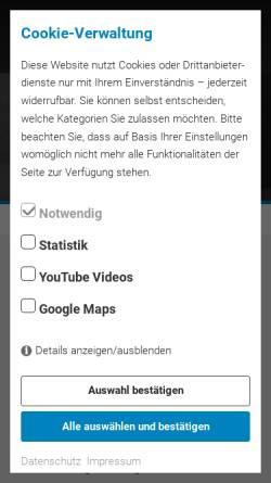 Vorschau der mobilen Webseite www.fliesenparadies-lindau.de, Fliesenparadies Lindau
