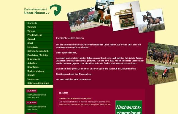 Vorschau von www.krv-unna-hamm.de, Kreisreiterverband Unna/Hamm e.V.